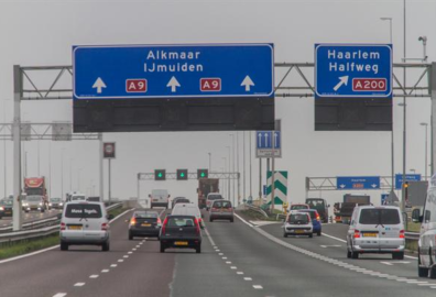 start wegverbreding A9