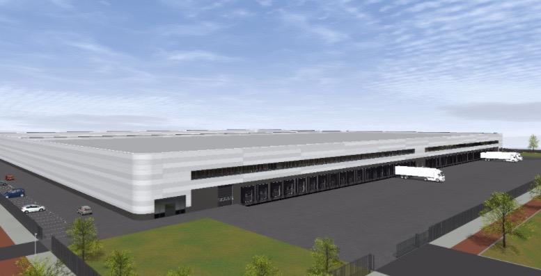 XL logistiek centrum STP