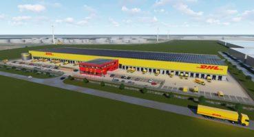 sorteercentrum DHL Amsterdam