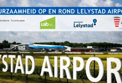 foto bij duurzame keten luchthaven lelystad