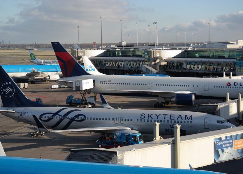 foto bij luchtvaart groei