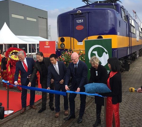 goederenvervoer spoor China