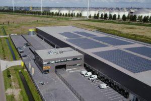 DHL sorteercentrum