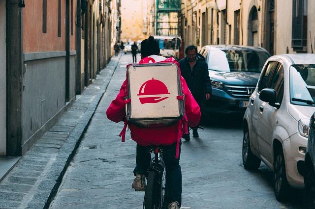 De mobiele stad: De fietskoerier