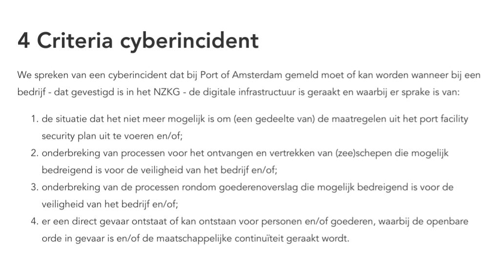 cybersecurity haven amsterdam