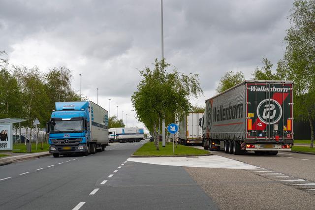 truckers wachtlocatie